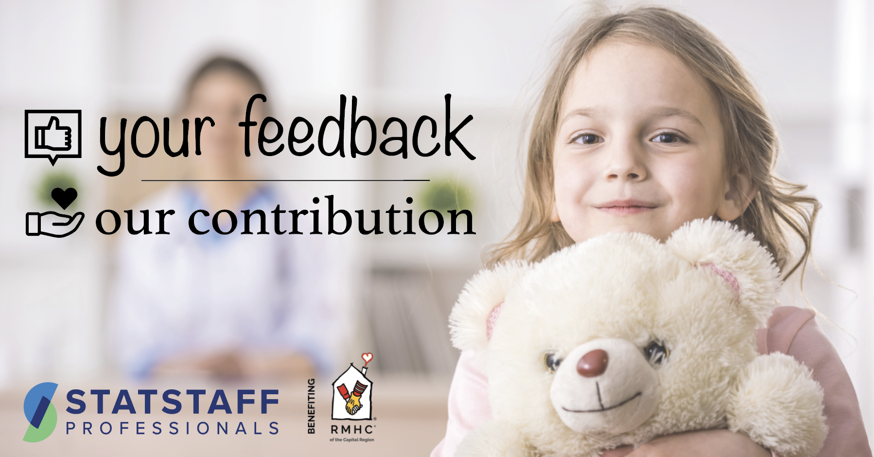Your feedback, our contribution