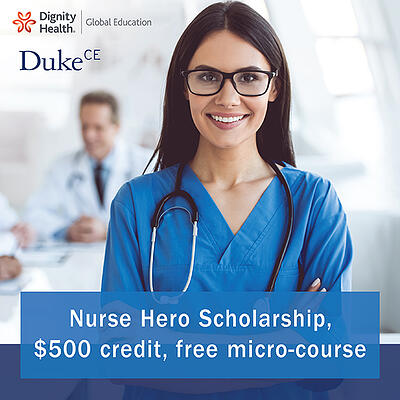 Nurse Hero Scholarship.